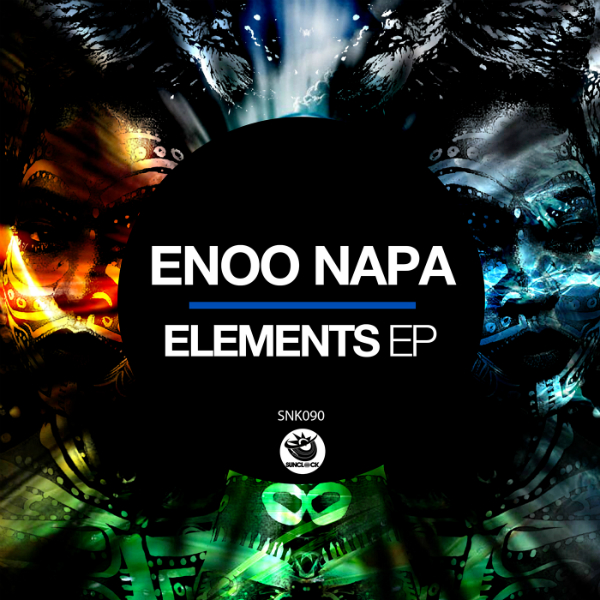 Enoo Napa - Elements Ep - SNK090 Cover