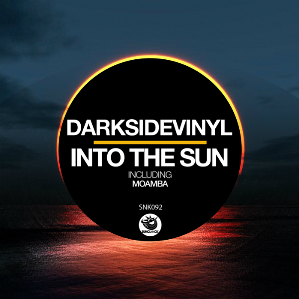Darksidevinyl - Into The Sun (incl. Moamba) - SNK092 Cover