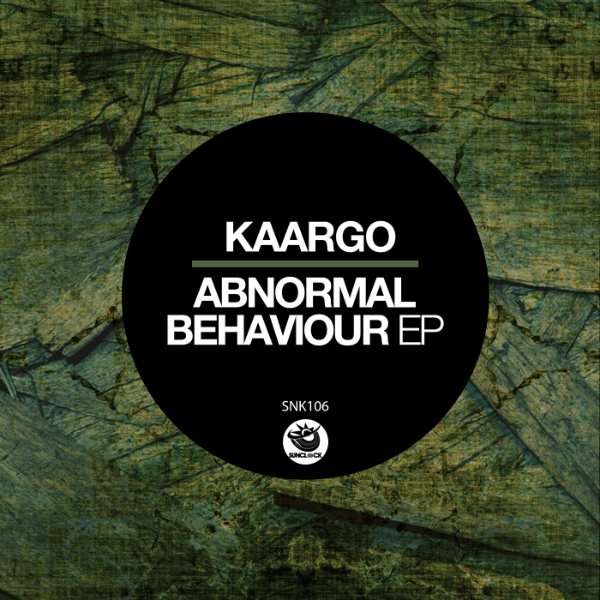 KAARGO - Abnormal Behaviour Ep - SNK106 Cover