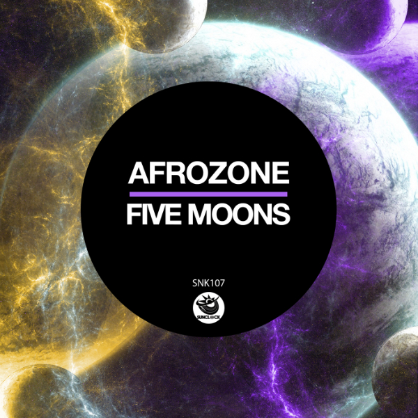 AfroZone - Five Moons - SNK107 Cover
