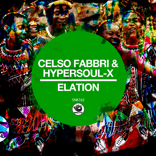 Celso Fabbri & HyperSOUL-X - Elation - SNK162 Cover