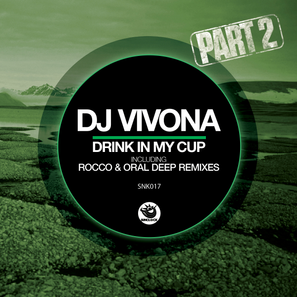 Dj Vivona - Drink In My Cup (incl. Rocco and Oral Deep Remixes) - SNK017 Cover