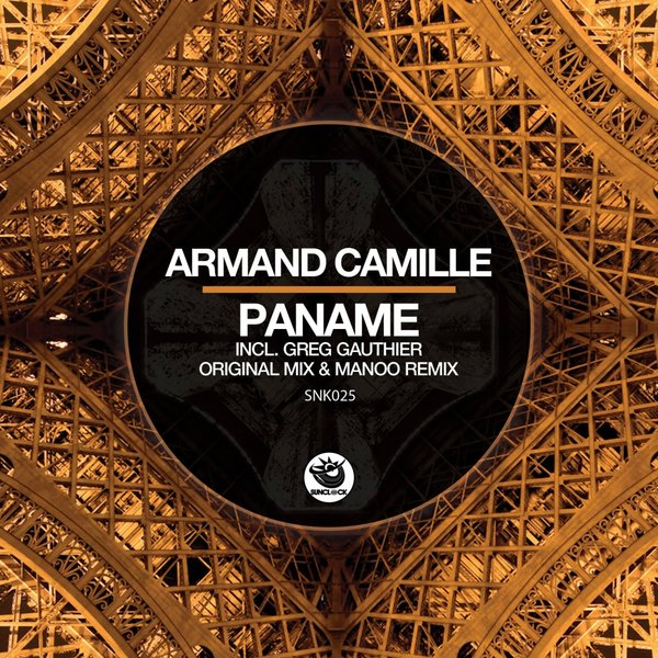 Armand Camille - Paname (incl. Manoo Remix) - SNK025 Cover
