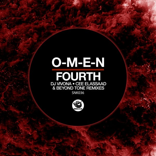 O-M-E-N - Fourth (incl Dj Vivona, Cee ElAssaad and Beyond Tones Remixes) - SNK036 Cover