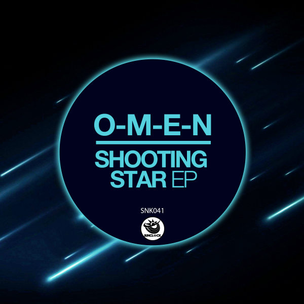 O-M-E-N - Shooting Star Ep - SNK041 Cover