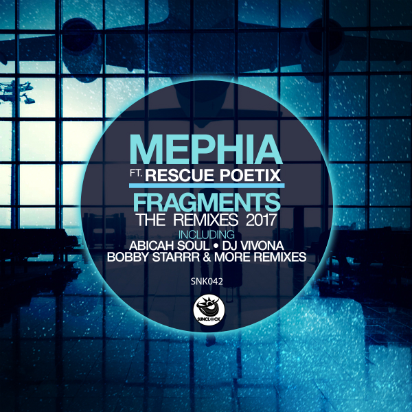 Mephia feat. Rescue Poetix - Fragments (The Remixes 2017) - SNK042 Cover