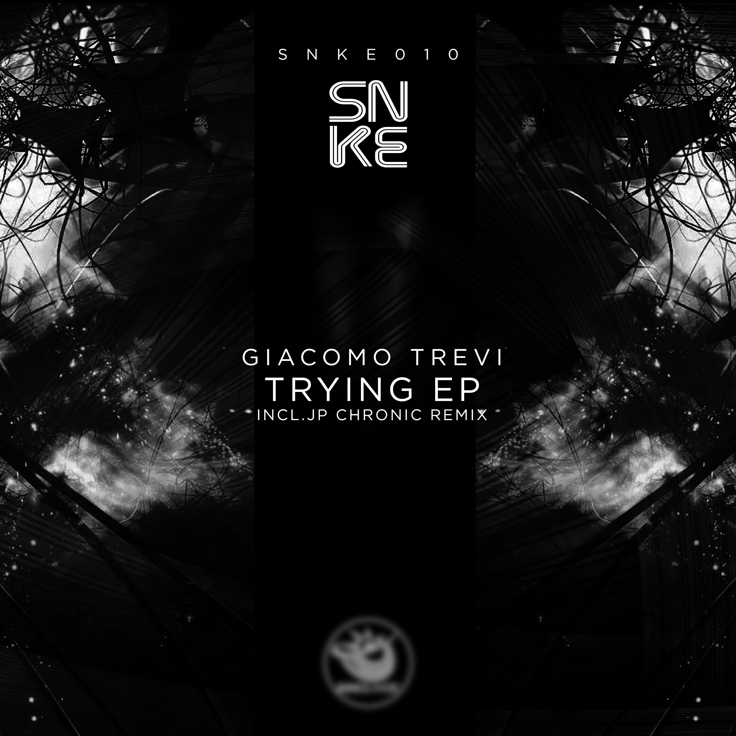 Giacomo Trevi - Trying Ep - SNKE010 Cover